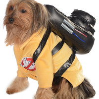 Ghostbuster Jumpsuit Pet Costume – Spirit Halloween