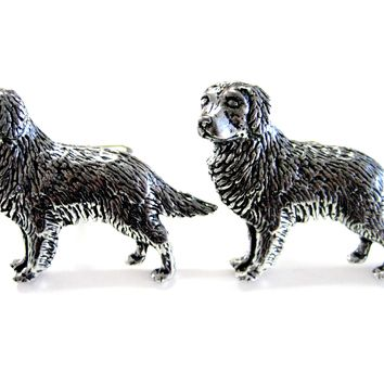 Golden Retriever Dog Cufflinks