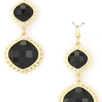 Moonless Night Earrings