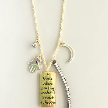 Good Things Charm Necklace