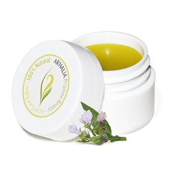 ARNALIA Acne Care Cosmetic Balm -100% Natural & Organic Wild Grown Ingredients - Face & Back Acne Spot Treatment, Cold Sores & Itchy Skin Relief, Cystic & Hormonal Acne, Scar Prevention Cream (8ml)