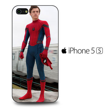 Spiderman Homecoming Tom Holland iPhone 5[S] Case