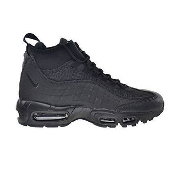 Nike Air Max 95 Men's Water-Resistant Sneakerboot Black/Black 806809-002 nike air max
