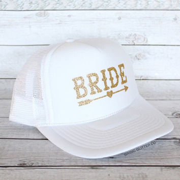 Bride - Bachelorette Party Hat - Bride Tribe // Trucker Hat