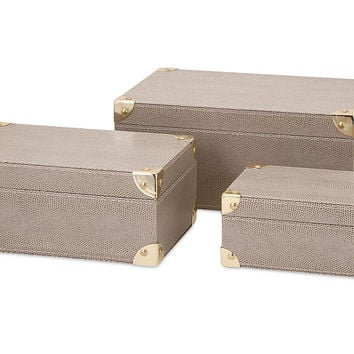 Storage Boxes, Set of 3, Storage Boxes & Bins