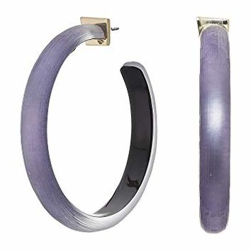 Alexis Bittar Large Hoop Earrings