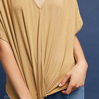 Twist-Front Dolman Top
