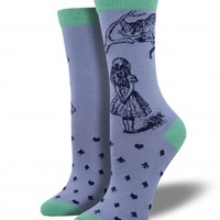Bamboo Cheshire Cat - Graphic Bamboo - Bamboo - Women's Socks