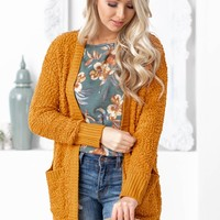 My Favorite Popcorn Sweater | Pumpkin Orange