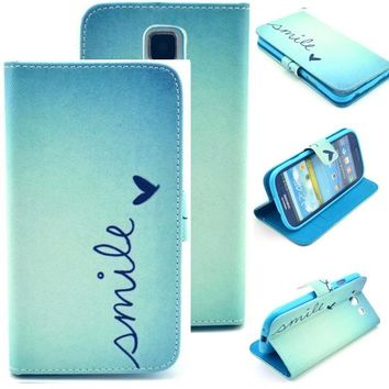 Samsung S5 case,Samsung galaxy S5 case,Creativecase Carryberry Flip ID Card wallet Colorful PU Leather Purse Design Case Cover for samsung S5 case for Samsung Galaxy S5 i9600#D02: Amazon.ca: Cell Phones & Accessories