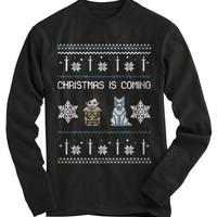 Christmas Is Coming Ugly Christmas Sweater