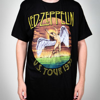 Led Zeppelin 'U.S. Tour 1975' Vintage Tee