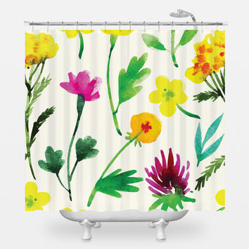 Grow Wild Shower Curtain