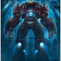 """Hulkbuster"" Metallic Paper Variant by Casey Callender"