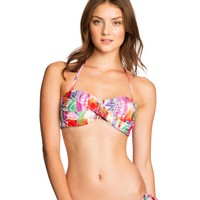 LLD Southwest Twist Bandeau Top