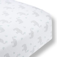 Infant Swaddle Designs Fitted Flannel Crib Sheet