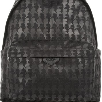 Karl Lagerfeld - Printed canvas backpack