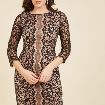 Dashing Done Well Lace Dress | Mod Retro Vintage Dresses | ModCloth.com