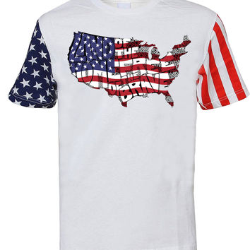 'Land of the Free, Home of the Brave' Tee