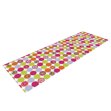 "Julia Grifol ""Happy Circles"" Yoga Mat"