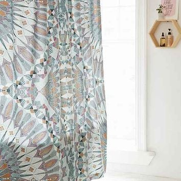 Magical Thinking Otto Mirrored Shower Curtain