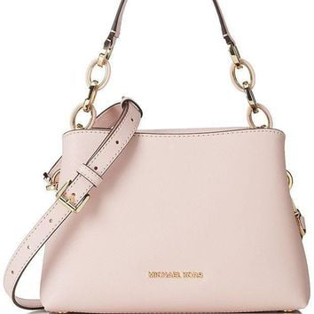 Michael Michael Kors Portia Small Saffiano Leather Shoulder Bag Blossom