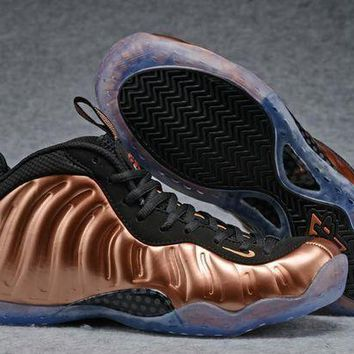 UCANUJ3V Air Foamposite One Bronze/Black Sneaker Shoes 40-47