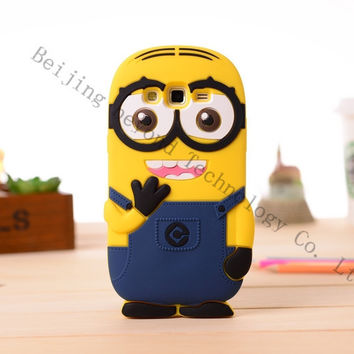 Soft Silicone 3D Cartoon Phone Case Cover For Samsung Galaxy Grand Prime VE G531 SM-G531H G531F G530 G530F G5308