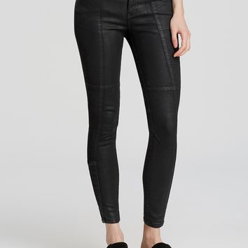 Free People Jillian Coated Skinny Jeans