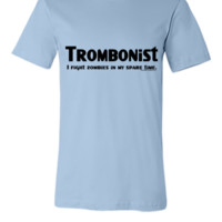Trombonist Zombie Fighter - Unisex T-shirt