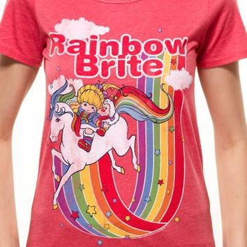 Junk Food Clothing Rainbow Brite Womens T-shirt | fabnob