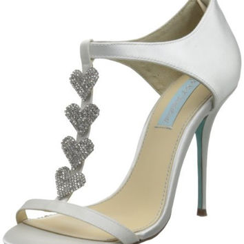 Blue Betsey Johnson  Favor Dress Pump