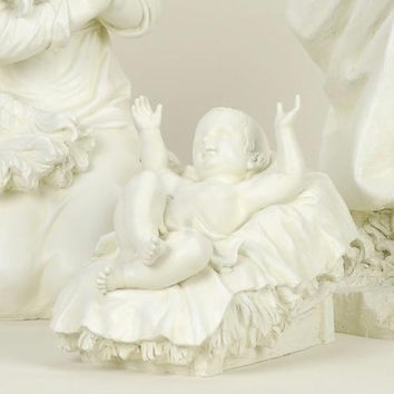 Baby Jesus Nativity Statue - Statue Depicts Baby Jesus In The Manger