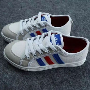 """Adidas"" Fashion Canvas Flats Sneakers Sport Shoes"