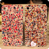 TRIANGLE DOT CASE FOR IPHONE 4/S AND 5 by ClothLess
