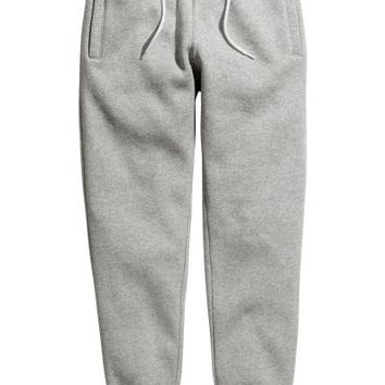 Sweatpants - Grey marl - Men | H&M US
