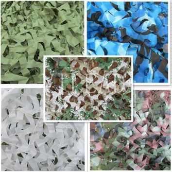 VILEAD 9 Colors  4M*5M Camouflage Netting Camo Net For Forest Pretend Exposure Pool Shade Shed Shade Party Decoration Car Covers