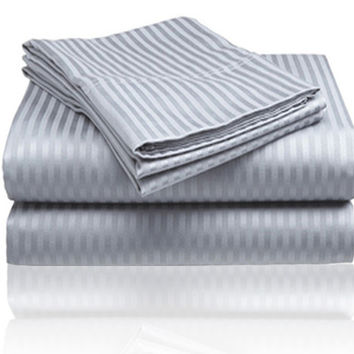 ComfortLiving Color 4-Piece Sheet Set Queen - Grey