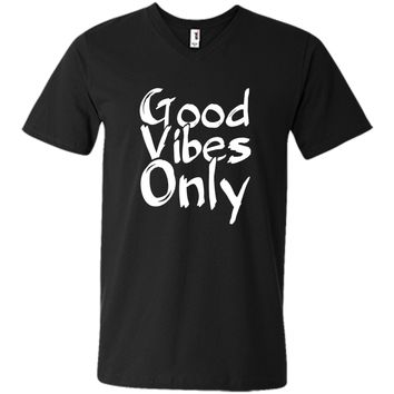 Good Vibes Only Positive Vibes Mindfulness T-shirt