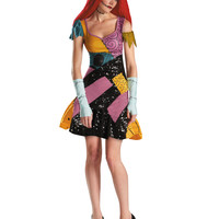 Nightmare Before Christmas Sally Glam Deluxe Adult Womens Costume