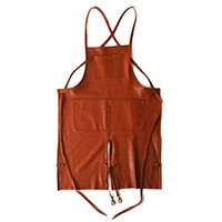 American Leather Apron With Split Leg