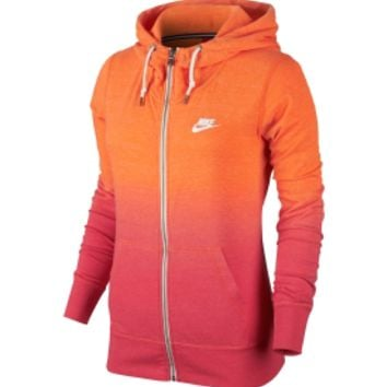 Nike Women's Gym Vintage Dip Dye Full Zip Hoodie | DICK'S Sporting Goods