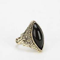 Diamond Stone Gift Card Adjustable Ring - Urban Outfitters