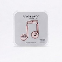 Happy Plugs Pink Gold Earbuds Plus Headphones - Urban Outfitters