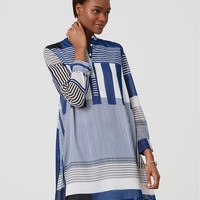 Stripeout Shirtdress | LOFT