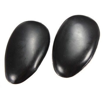 1 Pair Black Plastic Hair Dye Ear Cover Tint Clip