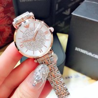 HCXX A0022 Armani Star Female Catalogue Watches Rose Gold