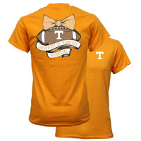 Southern Couture Tennessee Volunteers Vols Vintage Football T-Shirt