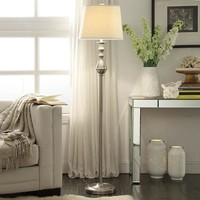 HomeVance Loraine Floor Lamp (Grey)
