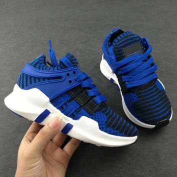 ADIDAS EQT Girls Boys Children Baby Toddler Kids Child Durable Breathable Sneakers Sport Shoes-5